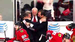 Blackhawks welcome back Coach Q [Video]
