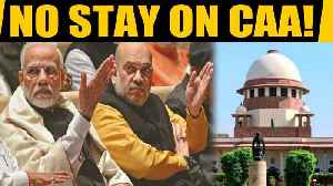 SC refuses to stay CAA, gives 4 weeks to Centre to respond to pleas on CAA | Oneindia News [Video]