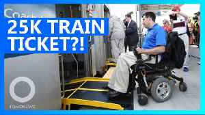 Amtrak quotes two wheelchair users $25K for train ride [Video]