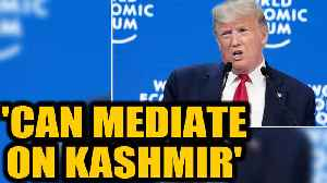 US President Donald Trump offers to mediate the Kashmir issue once again | Oneindia News [Video]