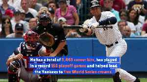Derek Jeter Elected to Baseball Hall of Fame [Video]