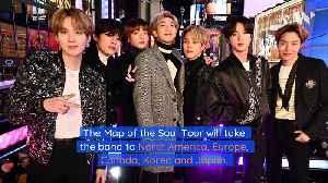 BTS Announces 2020 World Tour [Video]