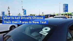 Uber to Let Drivers Choose Their Own Fares in New Test [Video]