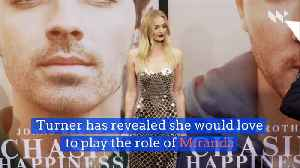 Sophie Turner Wants 'Lizzie McGuire' Role [Video]