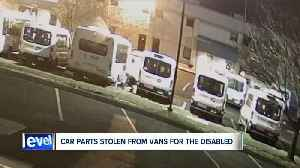 13 more catalytic converters stolen from disability buses in Akron, suspending some transportation [Video]