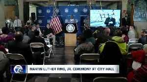 MLK JR Ceremony at Buffalo City Hall [Video]