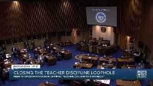 Bill to close teacher discipline loophole moves forward [Video]