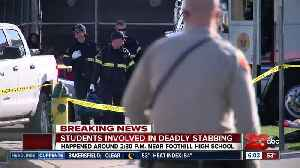 Students involved in deadly stabbing in East Bakersfield [Video]