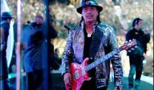 Carlos Santana visits Three Square Food Bank in Las Vegas [Video]