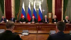 News video: Russia gets new government in what Putin calls 'major shake-up'