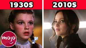 The 100-Year Evolution of Movie Heroines [Video]