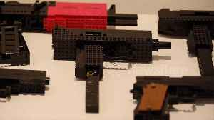 Furious parents blast UK art exhibition that displays models of guns made from Lego [Video]