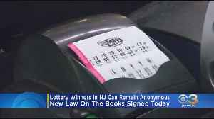 New Jersey Gov. Phil Murphy Signs Bill Allowing Lottery Winners To Remain Anonymous [Video]