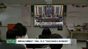 """Impeachment is a """"teachable moment"""" in the classroom [Video]"""