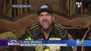 Larry Walker, Former Rockies Player, Elected To National Baseball Hall of Fame [Video]