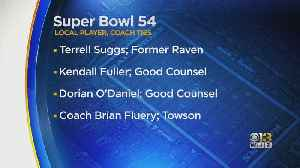 Terrell Suggs Among Those With Maryland Ties Playing In Super Bowl 54 [Video]