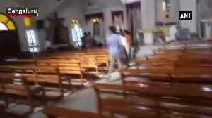 Francis of Assisi Church in Bengaluru vandalised by miscreants [Video]