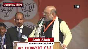Will put those in jail who raise slogans against 'Bharat Mata Amit Shah [Video]