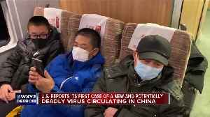 US reports its first case of a new and potentially deadly virus circulating in China [Video]