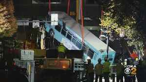 Cost To Remove Bus From Downtown Sinkhole Was $80K [Video]
