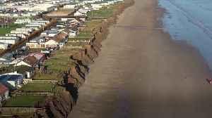 Fears grow over coastal erosion in Skipsea [Video]