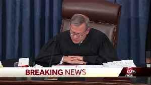 Senate passes impeachment rules overnight [Video]