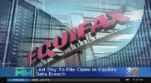 News video: Deadline To File Equifax Claim