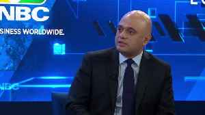 Sajid Javid: UK to press on with digital services tax [Video]