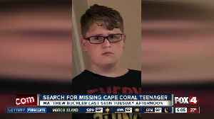 Cape Coral teenager reported missing Tuesday afternoon [Video]