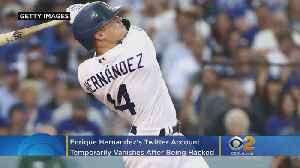 Dodgers' Enrique Hernández's Twitter Temporarily Vanishes After Apparently Being Hacked [Video]