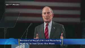 Presidential Hopeful Michael Bloomberg Heading To The Twin Cities This Week [Video]