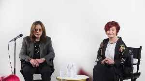 Sharon Osbourne thanks fans for support following Ozzy's Parkinson's diagnosis [Video]
