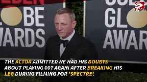 Daniel Craig on physical doubts after Spectre injury [Video]