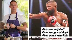 How Boxer Badou Jack's Nutritionists Prep His Meals [Video]