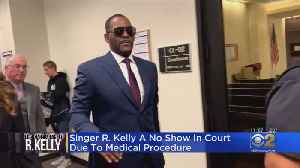 R. Kelly Misses Court Due To Medical Procedure [Video]
