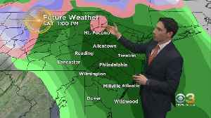 Midday Wednesday Weather Update: 50s By Saturday [Video]