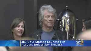Jon Bon Jovi Fights Food Insecurity At Rutgers University [Video]