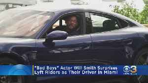 Philly Native Will Smith Surprises Lyft Riders In Miami [Video]