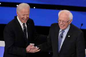 News video: Sanders Surges to the Top With Biden in Democratic Presidential Bid