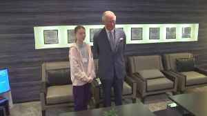 The Prince of Wales meets Greta Thunberg [Video]