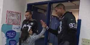 Raider surprise Las Vegas elementary school students [Video]