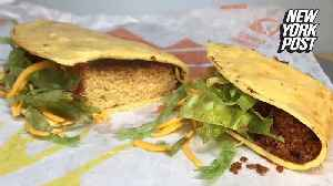 How to make a cake that looks like Taco Bell takeout [Video]