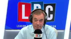 Nigel Farage compares President Trump and Prince Charles [Video]