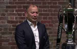 Jones ready for 'interesting' Six Nations, weighs in on Saracens' situation [Video]