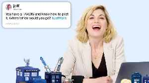 News video: Jodie Whittaker Answers Doctor Who Questions From Twitter