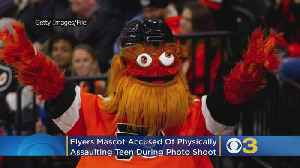Philadelphia Police Investigating Claim Flyers Mascot Gritty Physically Assaulted Teen Boy During Photo Shoot [Video]