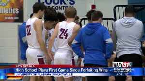 Huntsville High School basketball plays first game since forfeiting wins [Video]