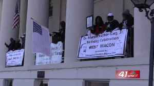 Middle Georgia honors MLK Day. [Video]
