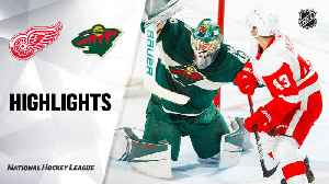 NHL Highlights | Red Wings @ Wild 1/22/20 [Video]