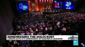 Remembering the Holocaust: Watch the Israeli Prime Minister Benjamin Netanyahu's full address [Video]